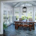 Sunroom Addition Off Living Room Layout