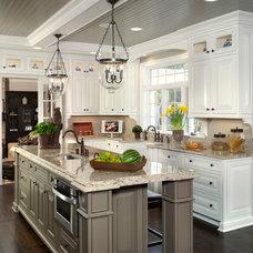 Traditional Kitchen by Curtiss W. Byrne Architect, LLC