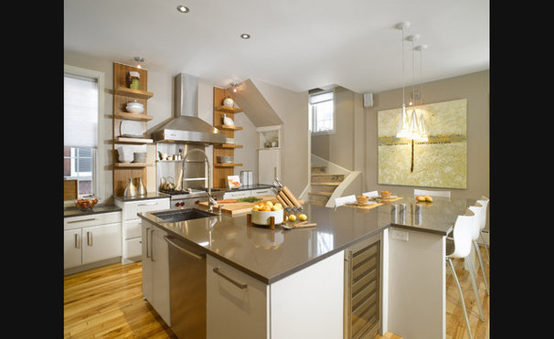 Modern Kitchen by Nouvelle Cuisine
