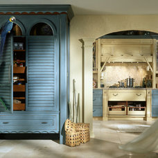 Tropical Kitchen by Rutt HandCrafted Cabinetry