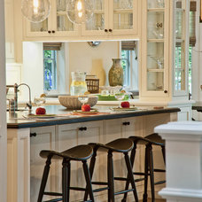 Traditional Kitchen by Jill Wolff Interior Design