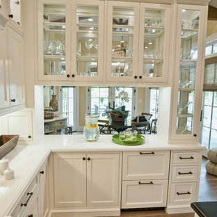 Glass Front Upper Cabinets Houzz