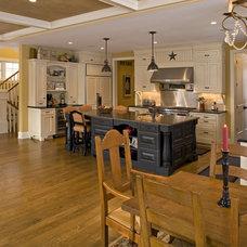 Traditional Kitchen by Knight Construction Design   Chanhassen, Minnesota