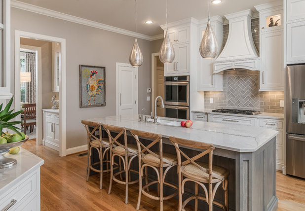 Transitional Kitchen by Noble Johnson Architects