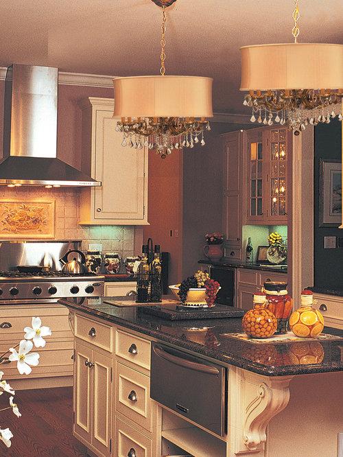 Swarovski. Küchen mit Marmor-Arbeitsplatte - Ideen & Bilder | HOUZZ