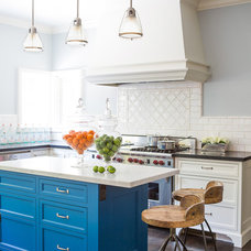 Beach Style Kitchen by Susan Manrao Design