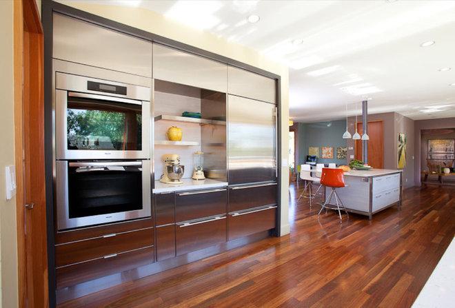 Contemporary Kitchen by Jody Brettkelly