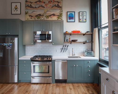 Blue Kitchen Cabinets | Houzz
