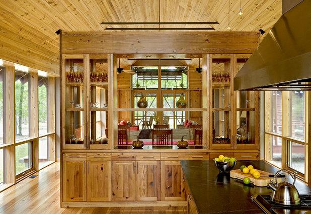 Farmhouse Kitchen by Robert M. Cain, Architect