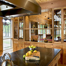 farmhouse kitchen by Robert M. Cain, Architect