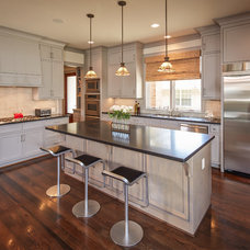 Traditional Kitchen by Thompson Custom Homes