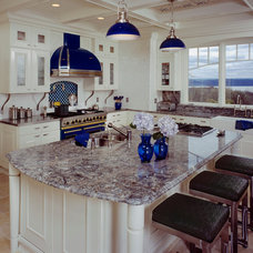 Contemporary Kitchen by Yorktown Woodworking Incorporated