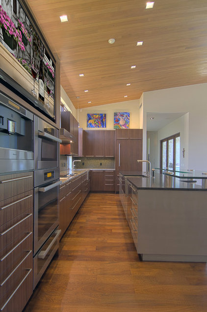 Modern Kitchen by Fatter & Evans Architects, Inc.