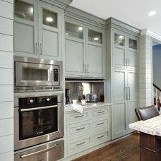 Transitional Kitchen by Jill Frey Kitchen Design