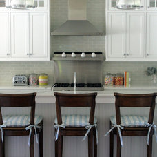 transitional kitchen by Jana Happel Interior Design