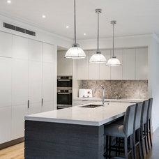 Transitional Kitchen by Highgate House