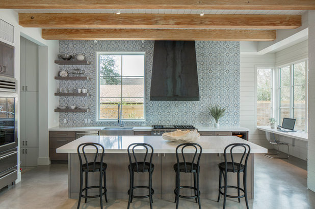 Houzz Kitchen Ideas Mesmerizing Trending Now The Top 10 New Kitchens On Houzz Decorating Inspiration