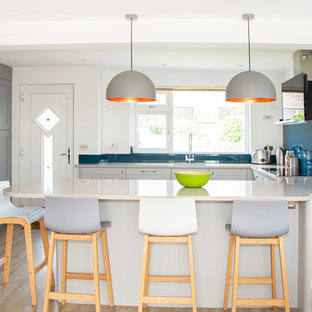 Bright & Colourful Family Kitchen