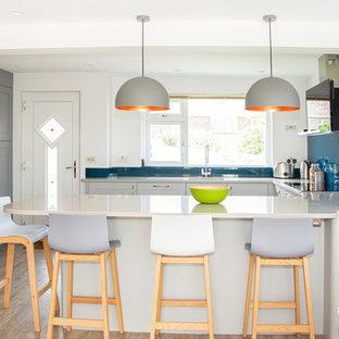 Bright & Colourful Family Kitchen