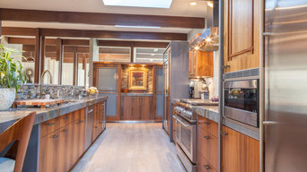 Bright and Functional Galley Kitchen