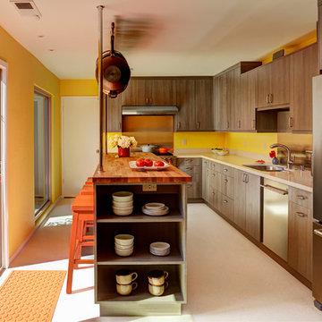 Bright & Modern Condo Kitchen