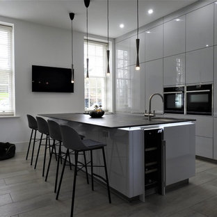 Bright and Modern Kitchen with fantastic clean lines