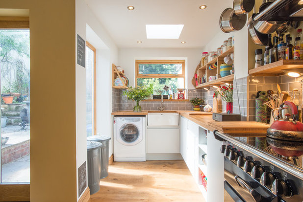 Eclectic Kitchen by Sheffield Sustainable Kitchens