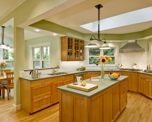 green countertops | houzz