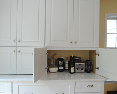 Countertop Appliance Garage : Small Appliance Storage Ideas, Pictures, Remodel and Decor