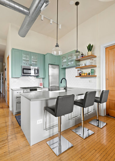 5 Lively Kitchen Cabinet Colors