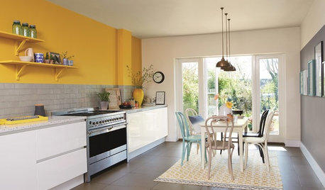 Cooking Up Color: 7 Ways to Shine With Yellow in the Kitchen