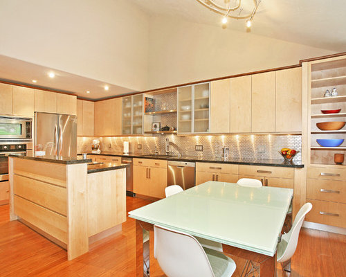 See-Through Backsplash Ideas, Pictures, Remodel and Decor