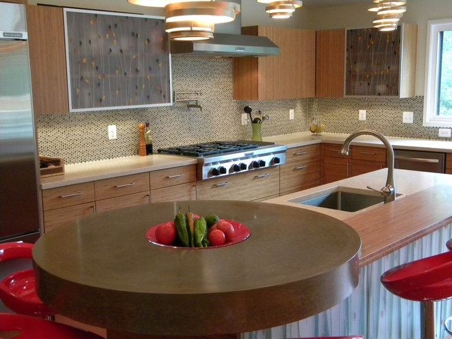 Contemporary Kitchen by Mark Melonas LUKE WORKS