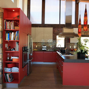 Bright Red Contemporary Denver