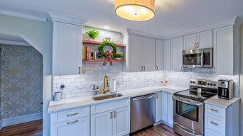 Bright Small Kitchen by Lauren