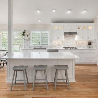 Bright White Beaverton Kitchen