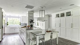 Bright, White, Family Friendly Kitchen