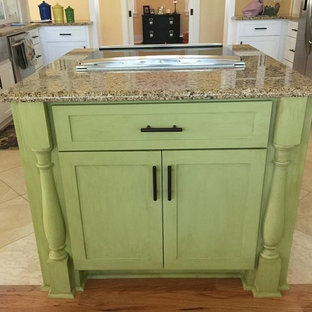 Brighten Up Your Kitchen Island the Easy Peasy Way!