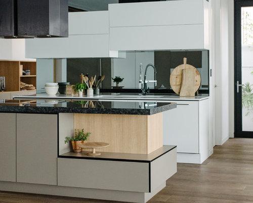 Adelaide Kitchen Design Ideas Renovations Photos With Black Splashback
