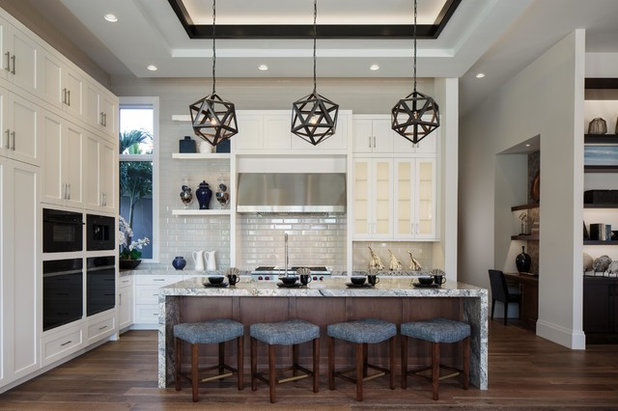 Transitional Kitchen by McGarvey Custom Homes