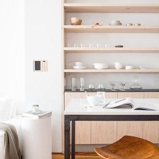 Scandinavian kitchen designs - Danish kitchen photo in San Francisco