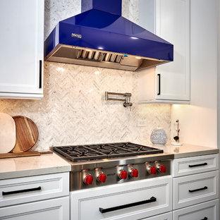 Brilliant Blue Kitchen Remodel - Fairbanks Ranch