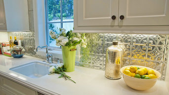 Brilliant Tin Backsplash