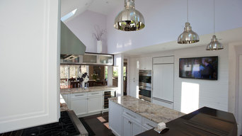 Brilliant White Kitchen Shines Bright With Layers of Dynamic Detail