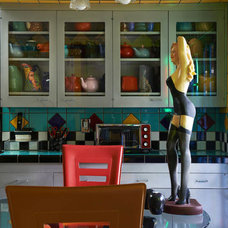 Eclectic Kitchen by Unconscious On Canvas