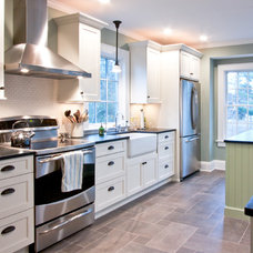 Contemporary Kitchen by Michael Robert Construction