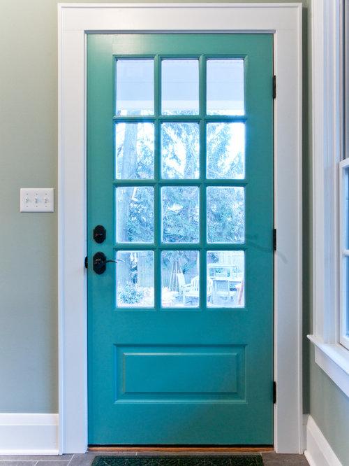 Back door kitchen design ideas remodel pictures houzz for Kitchen back door with window
