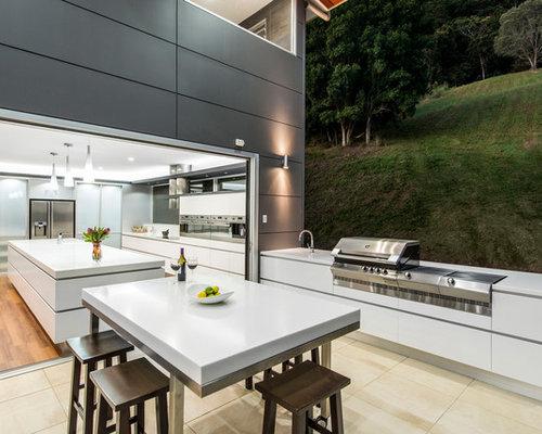 Indoor Outdoor Kitchen Houzz