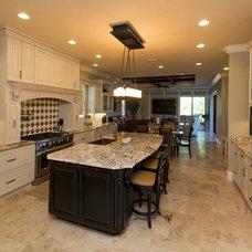 Traditional Kitchen by Cam Bradford Builder