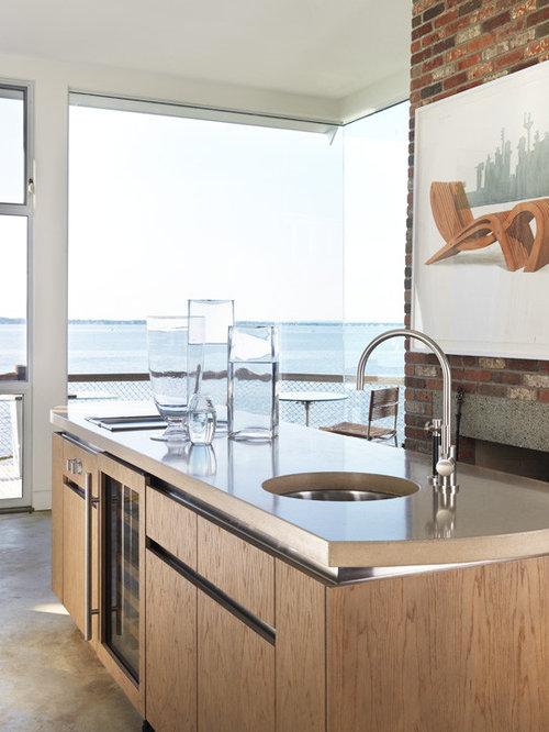 Modern Oceanfront Home In Bristol Ri